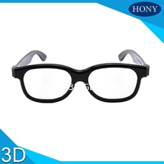 Passive 3D Circular Polarized Glasses For Movies With ABS Materilas