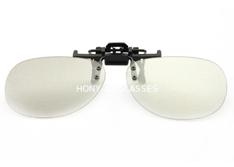 Unisex Adult Polarized 3D Clip-on Glasses RealD for Theatre Eyewear