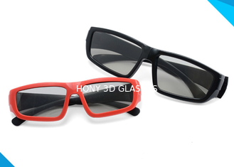 Adult & Kids Custom Printed Plastic Circular Real D Polarized 3D Glasses