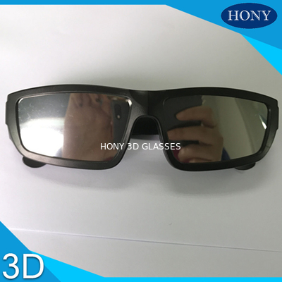 চীন Scratch Resistant Black Plastic Frame solar observing glasses Mirror Effect Solar Eclipse Film পরিবেশক