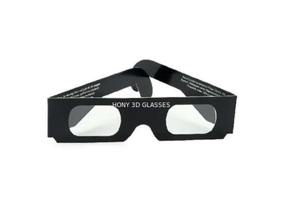 চীন Cheap Paper Passive Chromadepth 3d Glasses Changing Lights With Spectrum Separated Watch 3D Movie পরিবেশক