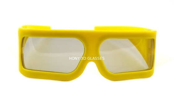 চীন Imax Cinema Lenses Linear Polarized 3D Glasses Big Size , Eco-friendly পরিবেশক