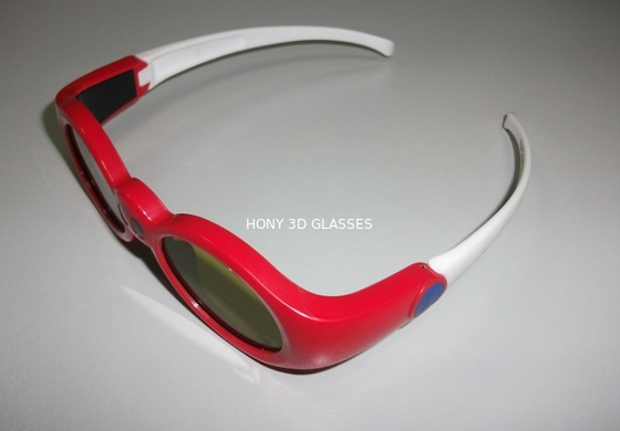 চীন Red Anaglyph Xpand 3D Shutter Glasses Eyewear For Children At Home পরিবেশক